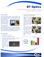 ASL D7 Optics Brochure