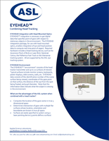 ASL EYEHEAD Integration Brochure