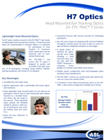ASL H7 Optics Brochure