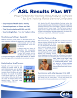 ASL Results Plus Monitor Tracking Brochure