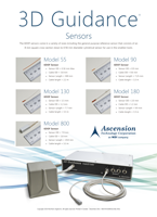 Ascension 3DG Sensors Brochure