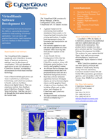 Cyberglove Systems VirtualHand SDK Brochure