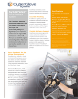 CyberGlove Systems CyberForce Brochure