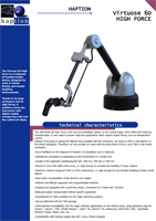 Haption Virtuose 6D HF Brochure