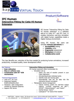 Haption IFC Human Brochure