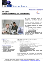 Haption IFS Core Brochure