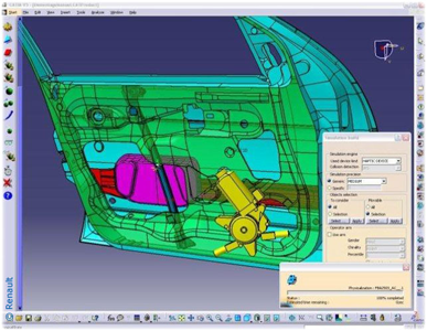 Haption Interactive Fitting for Catia™