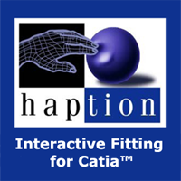 Haption IPPHaption Interactive Fitting for Catia™