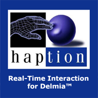 Haption Real-Time Interaction for Delmia™
