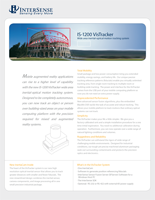 InterSense IS-1200 VisTracker Brochure