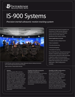 InterSense IS-900 Brochure