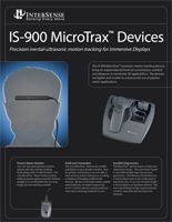 InterSense IS-900 MicroTrax Brochure
