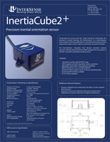 InterSense InertiaCube2 Brochure