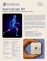 InterSense InertiaCube BT Brochure