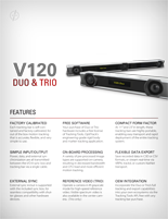 OptiTrack V120 Duo and Trio Brochure