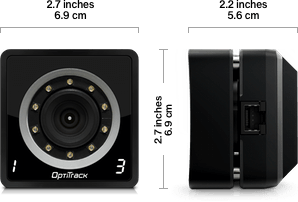 OptiTrack Prime 13W Dimensions