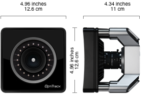 OptiTrack Prime 17W Dimensions