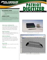 Polhemus PATRIOT Digitizer Brochure