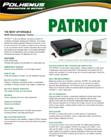 Polhemus PATRIOT Brochure