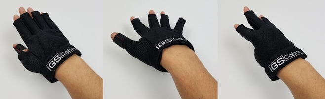 Synertial IGS Glove palm flex